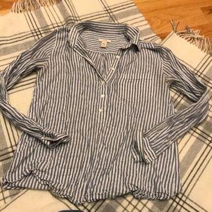 JCrew 3/4 Button blouse